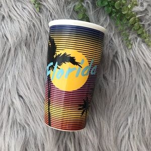 Starbucks 12oz. Ceramic Florida Tumbler